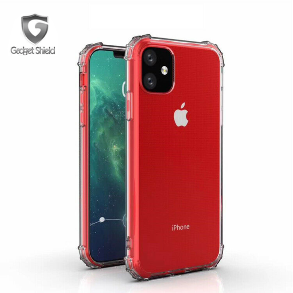 Gadget Shield shockproof transparent gel case for Apple iPhone 11 Pro