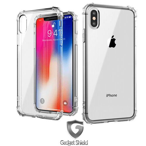 Gadget Shield shockproof transparent gel case for Apple iphone XR