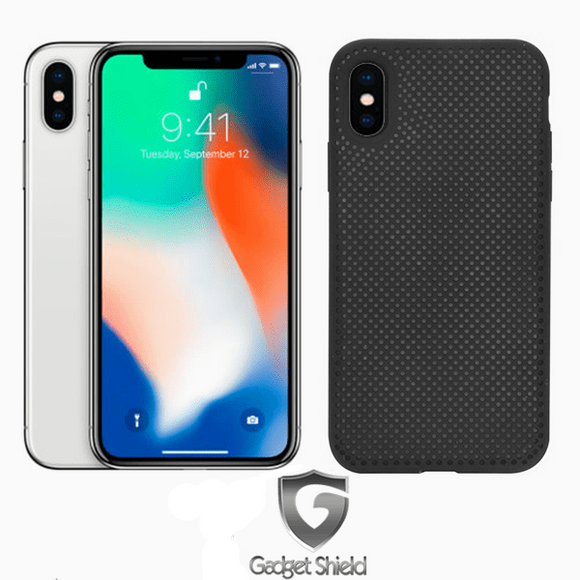 iPhone XS MAX Gorilla Tech D3O Gel Mesh Case