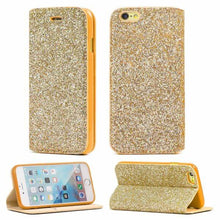 Load image into Gallery viewer, Gorilla Tech Gold slim glitter case for Apple iPhone XR