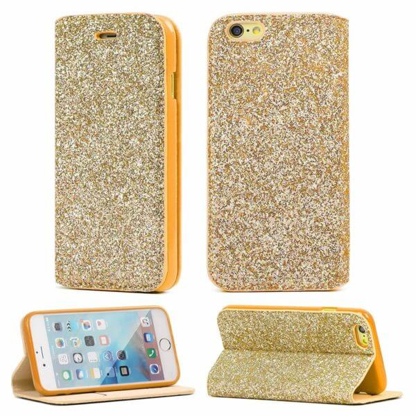 Gorilla Tech Gold slim glitter case for Apple iPhone XR