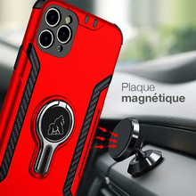 Load image into Gallery viewer, Gorilla Tech blue new armor case with magnetic car holder and ventilation for Apple iPhone 11 Pro Max 2