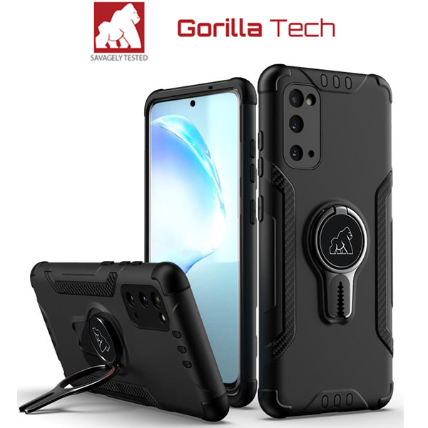 Gorilla Tech blue new armor case with magnetic car holder and ventilation for Apple iPhone XR