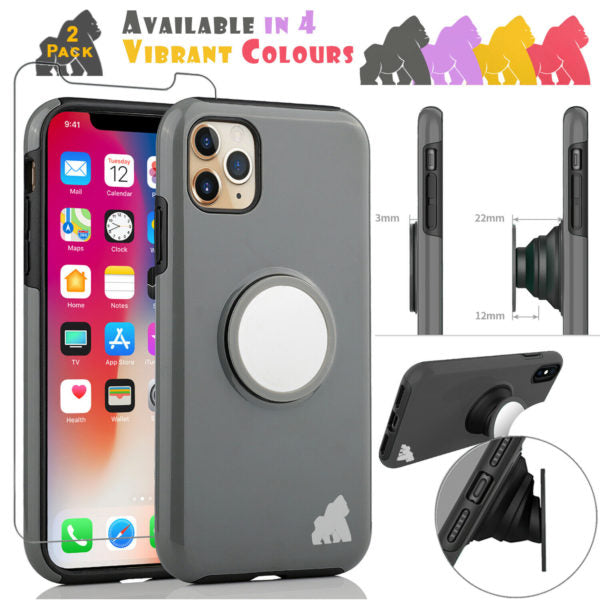 iPhone XR  Gorilla Tech Pop Socket Cover
