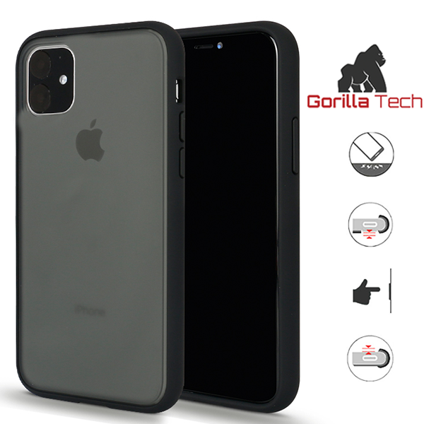Gorilla Tech shadow black case for Apple iPhone XR