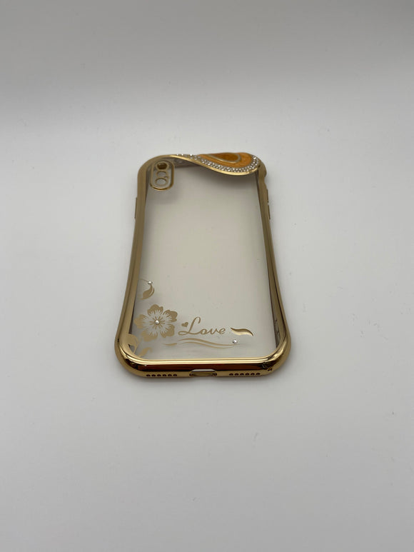 iPhone X/ XS Golden Rim Case