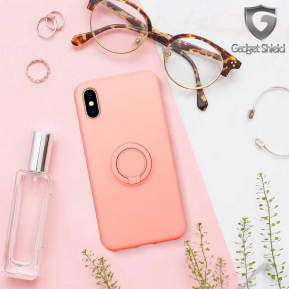 iPhone XS MAX Gadget Shield Silicone Ring Case