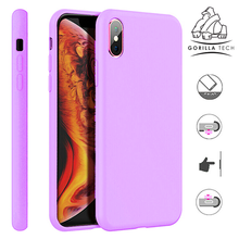 Load image into Gallery viewer, Premium quality lilac Gorilla Tech silicone case for Apple iphone 11