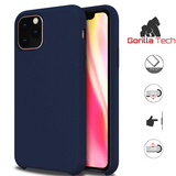 Premium quality dark blue Gorilla Tech silicone case for Apple iphone 11