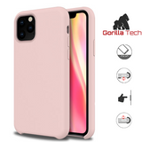 Premium quality pink  Gorilla Tech silicone case for Apple iphone 11