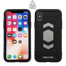 Load image into Gallery viewer, Slim armor mirror gorilla tech gold case for Apple iPhone X / XS
