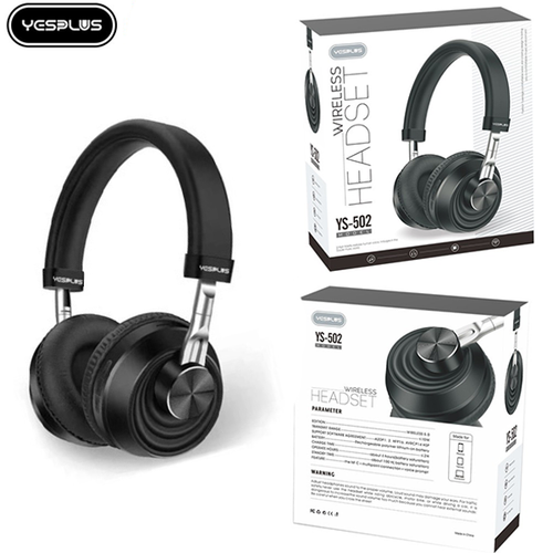 YS 502 YesPlus Bluetooth Headset with aux cable