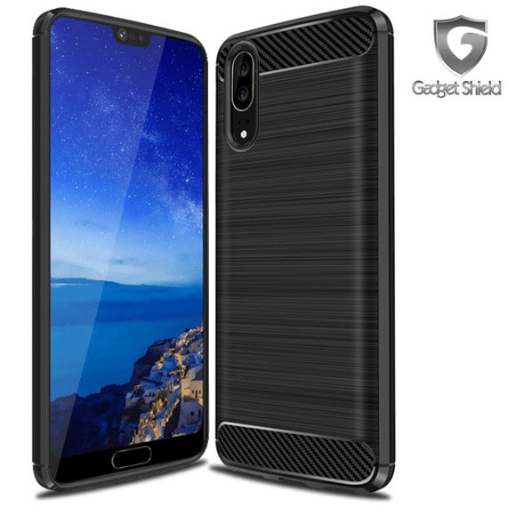 Gadget Shield Carbon Fiber Case for Huawei Y7 2018