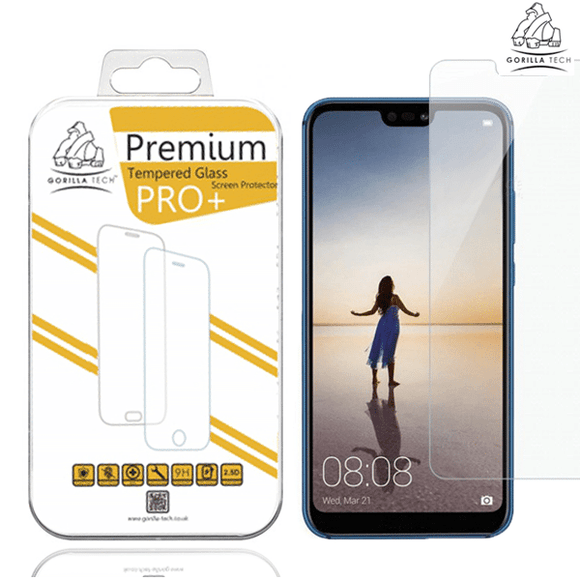 Gorilla Tech Premium Tempered Glass for Huawei P20