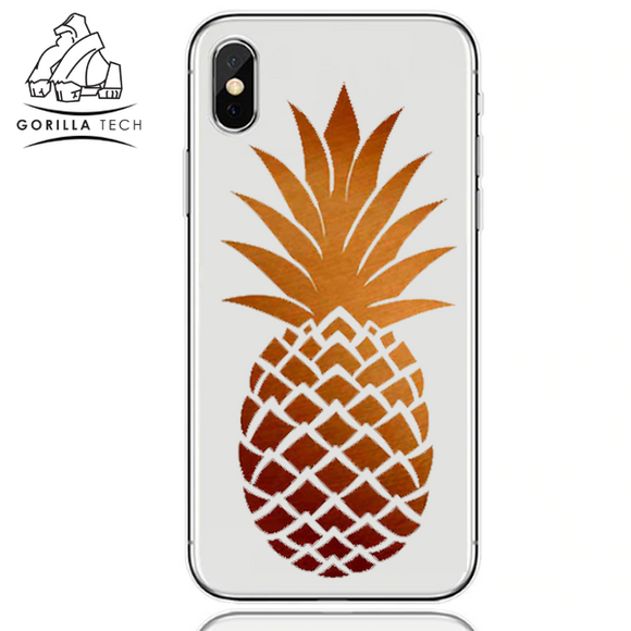 Gorilla Tech Summer Edition Case Pineapple (orange) for Huawei P30