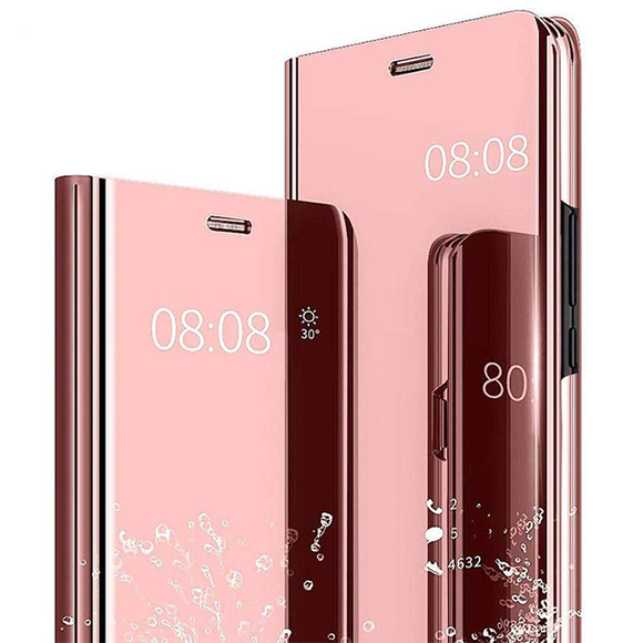 View Cover Case Pink for Huawei Y7 2018