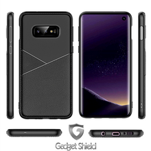 Load image into Gallery viewer, Gadget Shield Design Carbon Case for Huawei Y7 2018