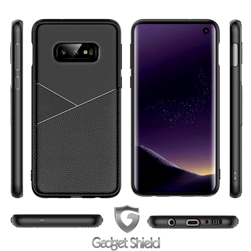 Gadget Shield Design Carbon Case for Huawei Y6 2018