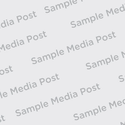 Sample Media Post