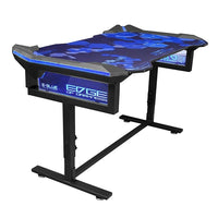 EGT004 Blue illumination gaming desk