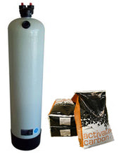 Load image into Gallery viewer, Clack 2.5 Cubic Foot, Non Backwashing Whole House Carbon Filter