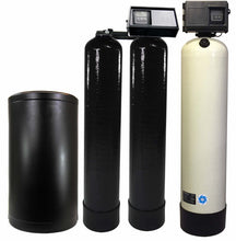 Load image into Gallery viewer, Fleck 2510SXT 2.5 Cubic Foot Acid Neutralizer & 9100SXT Water Softener