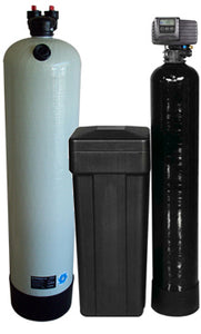 Clack 2.5 Carbon Filter & Fleck Water Softener Combo Package