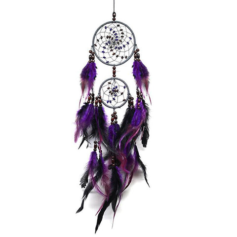 "Purple Dream Catcher <br/>""Tala"" - dreamcatchers-shop.com"