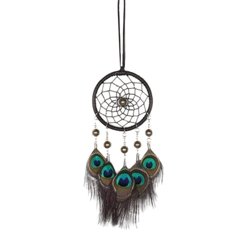 "Peacock Dream Catcher <br/>""Tadi"" - dreamcatchers-shop.com"