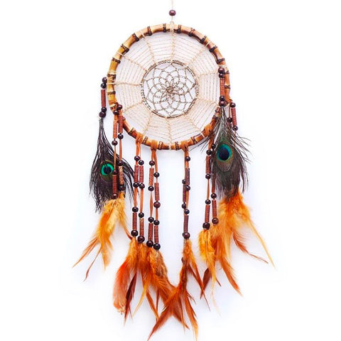 "Bamboo Dream Catcher <br/>""Natane"" - dreamcatchers-shop.com"