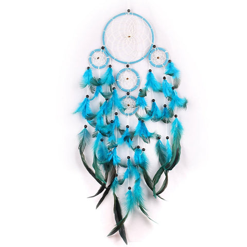 "Blue Dream Catcher <br/>""Yuma"" - dreamcatchers-shop.com"