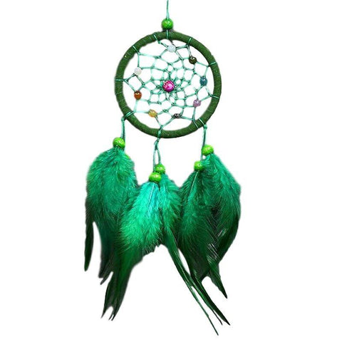"Green dream catcher <br/>""Nahele"" - dreamcatchers-shop.com"