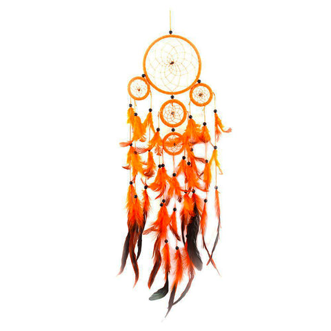 "Orange Dream Catcher <br/>""Tokela"" - dreamcatchers-shop.com"