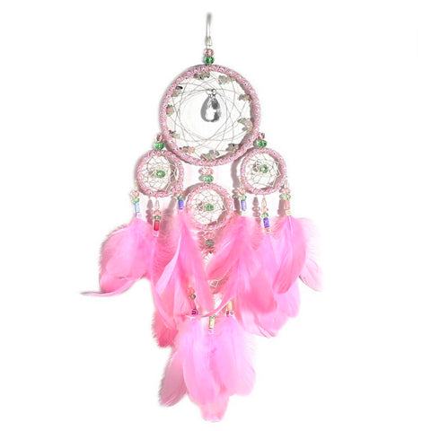 "Pink Dream Catcher <br/>""Kachina"" - dreamcatchers-shop.com"