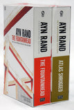 Ayn Rand Boxed Set: Atlas Shrugged, The Fountainhead (Paperback)