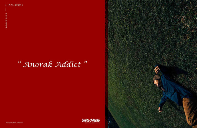 「Anorak Addict」by United Athle 型錄