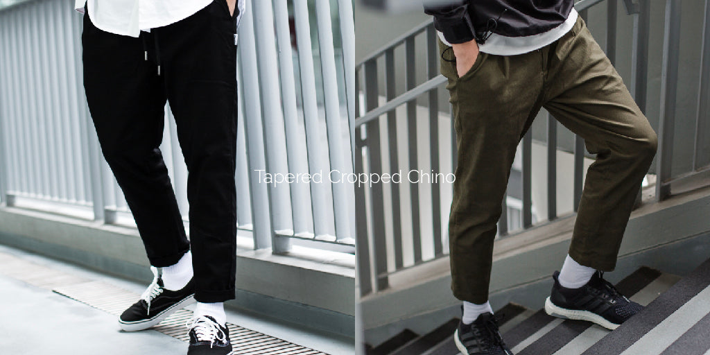 TP046 Tapered Cropped Chino