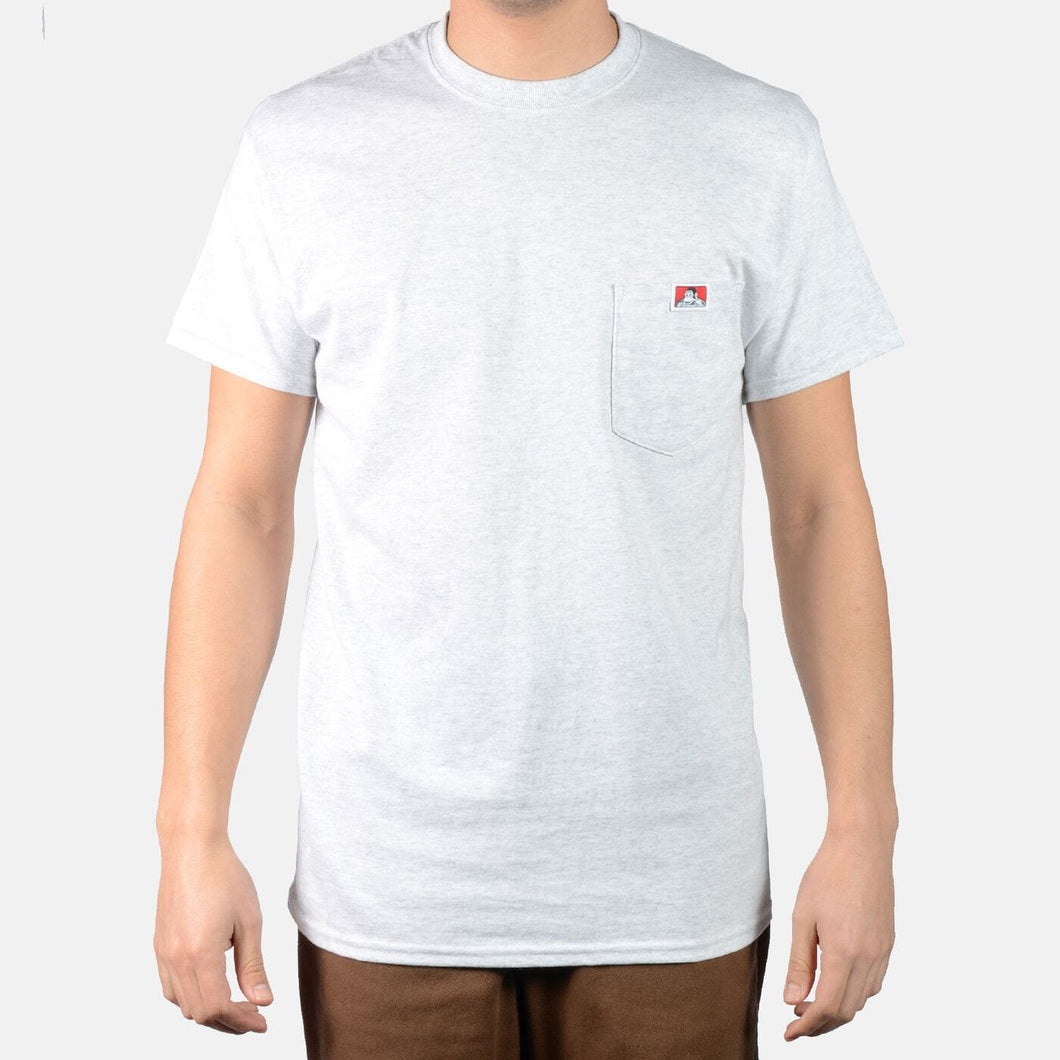 Ben Davis Heavy Duty Pocket Tee Ash Grey