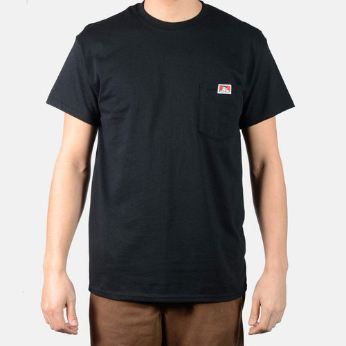 Ben Davis Heavy Duty Pocket Tee Black