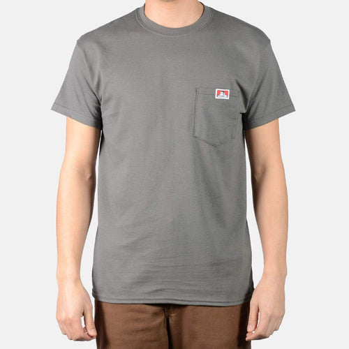 Ben Davis Heavy Duty Pocket Tee Charcoal