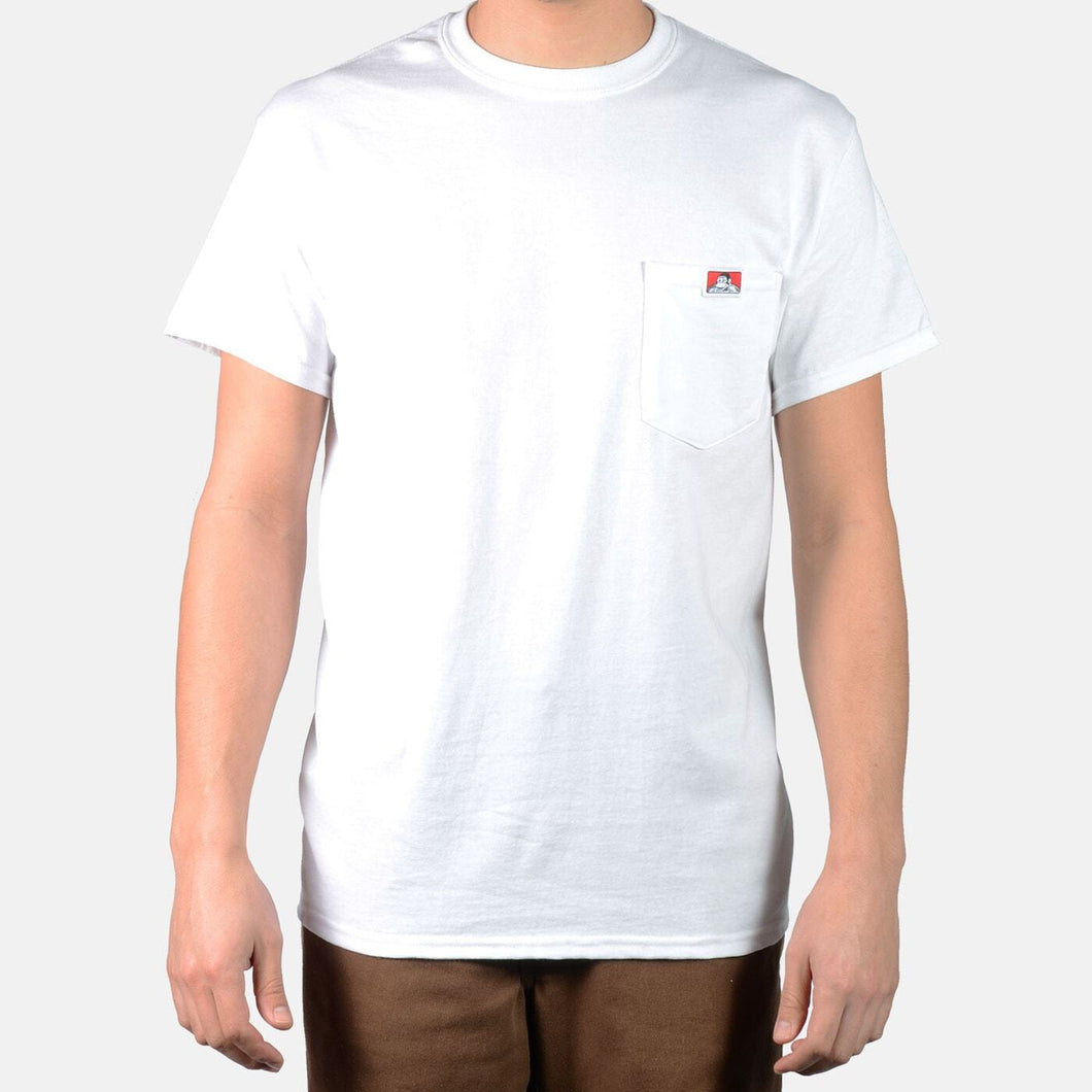 Ben Davis Heavy Duty Pocket Tee White