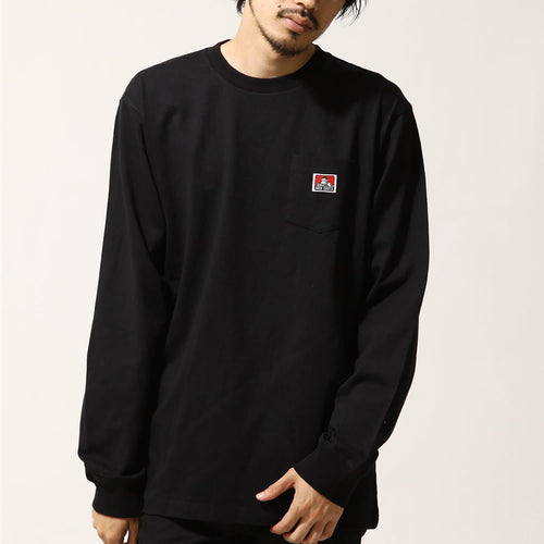 Ben Davis Pocket L/S Tee Black