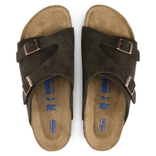 Load image into Gallery viewer, Birkenstock Zurich Suede Sandals Mocha