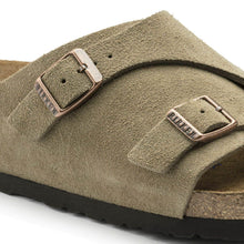 Load image into Gallery viewer, Birkenstock Zurich Suede Sandals Taupe