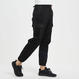 Boysnextdoor 3 Way Patchwork Cargo Chino Pants Black