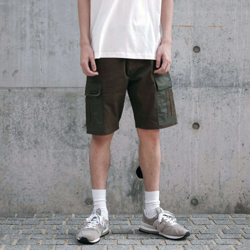 Boysnextdoor Cargo Chino Shorts Green