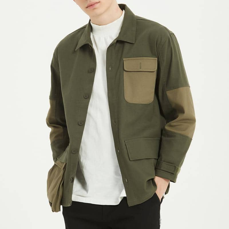 Boysnextdoor Chore Jacket Green
