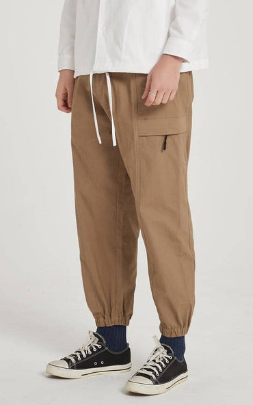 Boysnextdoor Functional Jogger Pants Khaki