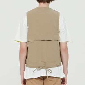 Boysnextdoor Functional Vest Beige