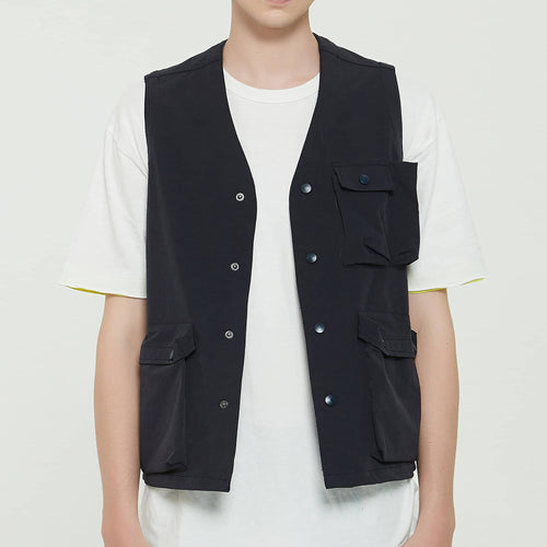 Boysnextdoor Functional Vest Navy